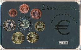 GERMANY COMMEMORATIVE EURO COINS SET BIMETAL IN FOLDER - Deutschland