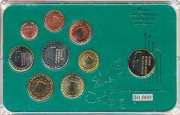 NETHERLANDS NIEDERLANDE COMMEMORATIVE EURO COINS SET BIMETAL IN FOLDER - Niederlande
