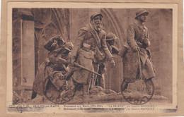Châlons-sur-Marne Monument Aux Morts 1914-1918 La Relève - Oorlogsbegraafplaatsen