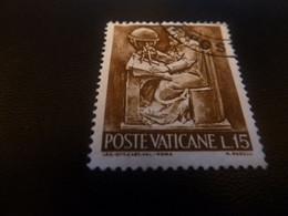 Poste Vaticane - J.P.S Off Cart Val Roma - M. Rudelli - Val L.15 - Brun Foncé - Oblitéré - Année 1969 - - Usati
