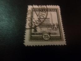 Poste Vaticane - Centesimi - Val 25 - Venticinque - Gris Foncé - Oblitéré - Année 1978 - - Usati