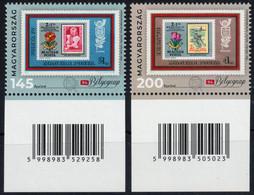 Stamp On Stamp HUNGARY 2021 Chain Bridge Airplane Tulip Tulipe Flower Costume 1973 IBRA München Poland Poznan EXHIBITION - Francobolli Su Francobolli
