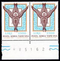 Vaticano (1974) - Posta Aerea, Angelo, In Coppia ** - Posta Aerea