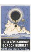 Aviation - Gordon Bennett - Genève - Signature De Plinio Romaneschi Parachutiste Tessinois - Rare - Globos