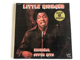 LITTLE RICHARD - Original Super Hits - 2 LP - FRENCH Press - Rock