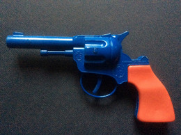 REVOLVER À AMORCES  GONHER  Made In Spain - Giocattoli Antichi