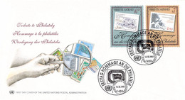 United Nations New York FDC 1997 Stamp Collecting (DD31-53) - FDC
