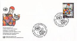 United Nations New York FDC 1996 WFUNA (DD31-53) - FDC