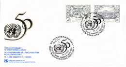 United Nations New York FDC 1995 United Nations 50 Years (DD31-53) - FDC