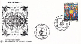 United Nations New York FDC 1995 Sozialgipfel (DD31-53) - FDC
