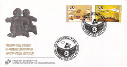 United Nations New York FDC 1995 Jugend Unser Zukunft (DD31-53) - FDC