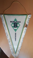 Vintage Pennant Football Soccer Club Borusia Monchengladbach Germany 19x25cm - Abbigliamento, Souvenirs & Varie