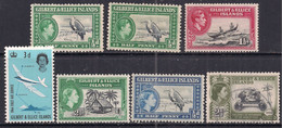 Gilbert & Ellice Small Selection Of 7  Used Stamps ( C284 ) - Gilbert & Ellice Islands (...-1979)