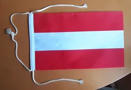 AUSTRIA Pennant  Flag Coat Of Arms 15x25cm - Unclassified
