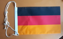 GERMANY Pennant  Flag Coat Of Arms 15x25cm - Unclassified