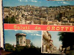 SALUTI  DA GROTTE PVEDUTE PAESE DI ALERMO  N1970 IG10536 - Palermo