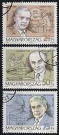 Mihály Dénes Engineer - Inventor Of Telehor TELEVISION Bíró László BALL PEN - Bay MOON Radar - Hungary 1996 - PHYSICS - Fisica