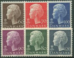Dänemark 1974 Königin Margrethe II. 557/62 Postfrisch - Ungebraucht