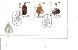 Pérou - Costumes ( FDC De 1973 à Voir) - Perù