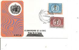 Pérou - OMS ( FDC De 1969 à Voir) - Perù