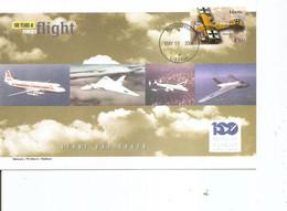 Guerre 14/18 - Avions De Combat -Albatros D11 ( FDC Du Libéria De 2004 à Voir) - WW1 (I Guerra Mundial)