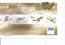 Guerre 14/18 - Avions De Combat - S 11 ( FDC Du Libéria De 2004 à Voir) - WW1 (I Guerra Mundial)