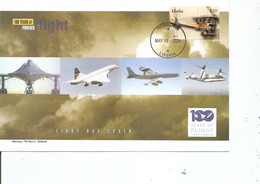 Guerre 14/18 - Avions De Combat - BE2 ( FDC Du Libéria De 2004 à Voir) - WW1 (I Guerra Mundial)
