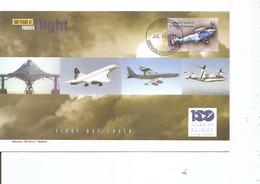 Guerre 14/18 - Avions De Combat ( FDC De Grenade De 2003 à Voir) - WW1 (I Guerra Mundial)