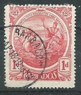 Barbade YT N°105 Nouveau Sceau De La Colonie Oblitéré ° - Barbados (...-1966)