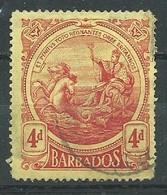 Barbade YT N°109 Nouveau Sceau De La Colonie Oblitéré ° - Barbados (...-1966)