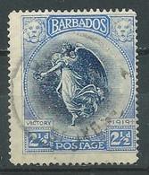Barbade YT N°121 Victoire Ailée Du Louvre Oblitéré ° - Barbados (...-1966)