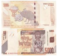 Congo DR - 5000 Francs 2020 UNC P. 102 Lemberg-Zp - Repubblica Democratica Del Congo & Zaire