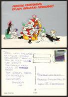 Christmas Santa Claus Penguins  #16604 - Santa Claus