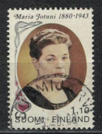 1980    100th Birthday Of Maria Jotuni (1880-1943), Author - YT 827 - Unificato 827 - MI 863 - Gebraucht