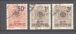 Maroc  -  Taxes  :  Yv   46-48  (o) - Strafport