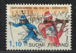 1980    World Biathlon Championship - YT 837 - Unificato 837 - MI 873 - Gebraucht