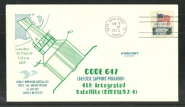 USA 1973 SPACE COVER CODE 647 CAPE CANAVERAL COMMEMORATIVE COVER - Event Covers