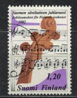 1982    Anniversary Of Finnish Musical Art - YT 860 - Unificato 860 - MI 896 - Gebraucht