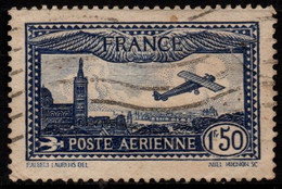 Q018C - FRANCE - 1930 - AIR STAMPS -  YV#: 6 - USED - - 1927-1959 Afgestempeld