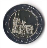 ** 2 EURO COMMEMORATIVE  ALLEMAGNE 2011 Lettre D. PIECE NEUVE ** - Deutschland