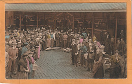 Oostende Market Belgium Old Postcard - Oostende
