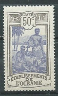 Ets De L'Océanie YT N°55 Tahitiens Neuf ** - Unused Stamps