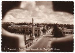 SOMALIA AFIS - MOGADISCIO CORSO VITTORIO EMANUELE DAL MUSEO DELLA GORESA / MOSQUE - Somalia (AFIS)