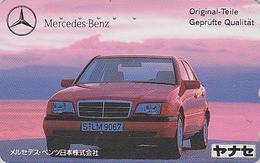 Télécarte JAPON / 110-011 - VOITURE -  MERCEDES -  CAR JAPAN Phonecard / Germany - AUTO TK - 3511 - Automobili