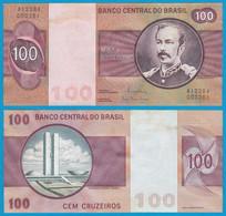 Brasilien - Brazil 100 Cruzados Banknote (1981) Pick 195 Ab UNC Sig.20  (21071 - Andere - Amerika