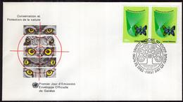 United Nations - 1982 - FDC - Conservation Et Protection De La Nature - A1RR2 - FDC