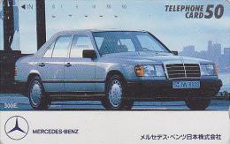 Télécarte JAPON / 110-59034 - Voiture MERCEDES -  CAR JAPAN Free Phonecard / Germany - Auto TK - 3513 - Automobili