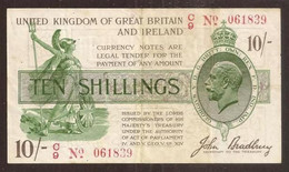 Great Britain. 10 Shillings (1918). Pick 350b. - 10 Schillings