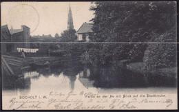 Gest. W-4290 Bocholt Partie An Der Aa 1911 - Bocholt