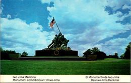 (5 A 9) Older USA Postcard - IWO JIMA Memorial - Oorlogsmonumenten